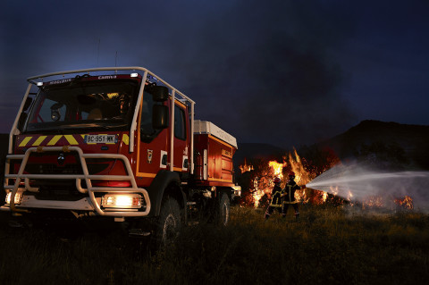 fred bourcier photographe camion pompiers incendies renault trucks 06