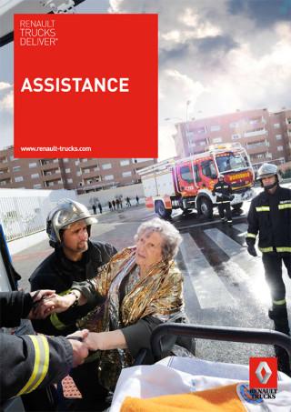 fred bourcier photographe Renault trucks deliver assistance