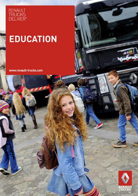 fred bourcier photographe renault trucks deliver education