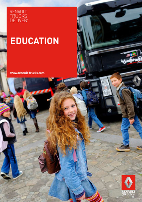 fred bourcier photographe Renault trucks deliver education