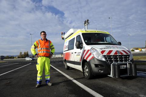 fred-bourcier-photographe reportage renault trucks securite autoroutes appr 01
