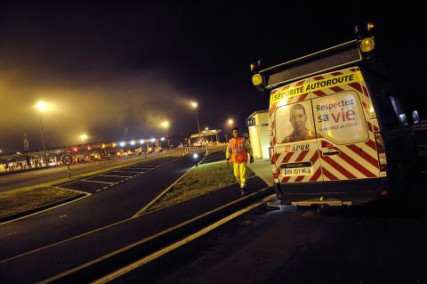 fred-bourcier-photographe reportage renault trucks securite autoroutes appr 03