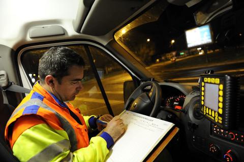 fred-bourcier-photographe reportage renault trucks securite autoroutes appr 06