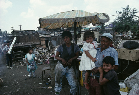 fred bourcier photographe reportage guatemala city decharge bidonville 02