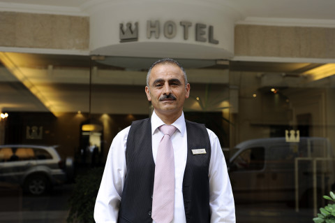 fred bourcier photographe reportage liban beyrouth hotel valet