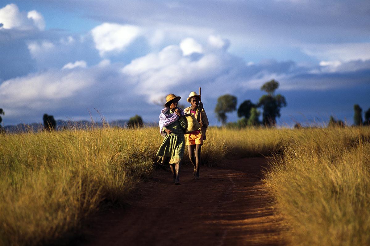 fred bourcier photographe reportage madagascar paysans haut plateaux