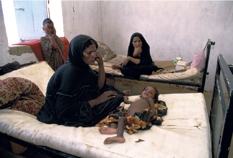 fred bourcier photographe reportage mauritanie camp de refugies dispensaire medical