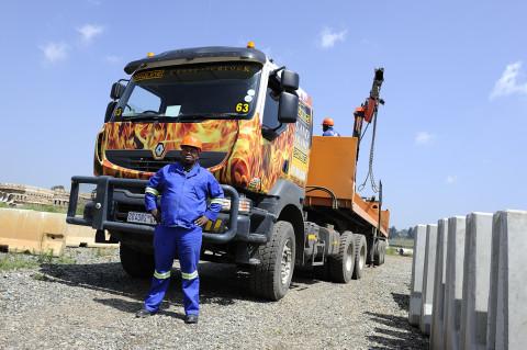 fred bourcier photographe reportage renault trucks btp travaux publics afrique du sud 01