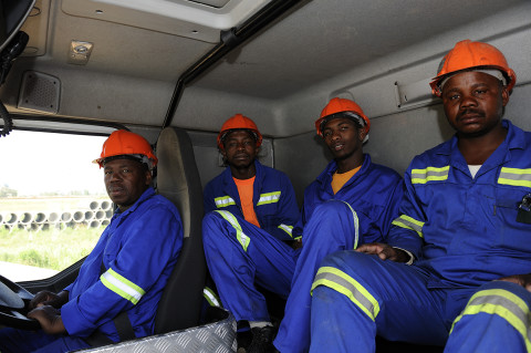 fred bourcier photographe reportage renault trucks btp travaux publics afrique du sud 05