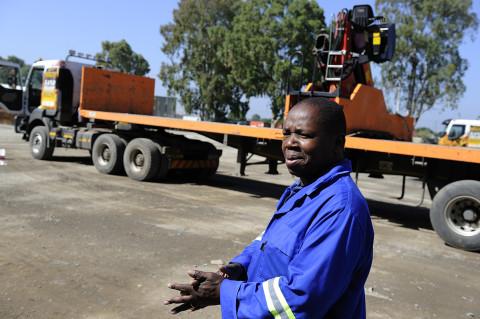 fred bourcier photographe reportage renault trucks btp travaux publics afrique du sud 07