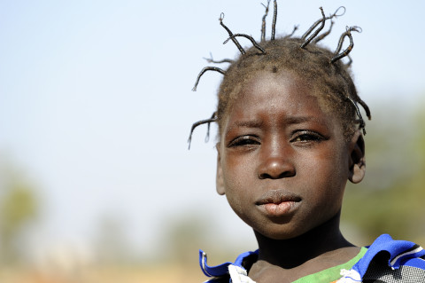 reportage nord du Burkina Faso enfants association enfant du monde photos fred bourcier