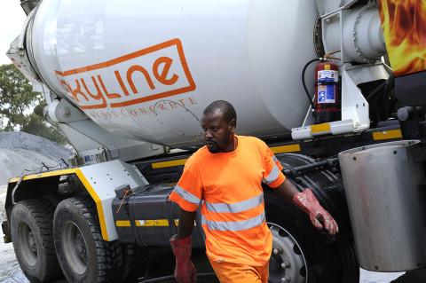 fred bourcier photographe reportage renault trucks camion toupie btp afrique du sud 02