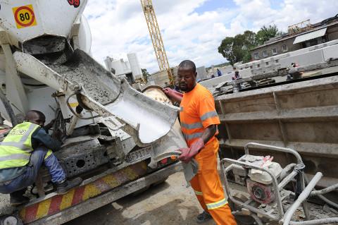fred bourcier photographe reportage renault trucks camion toupie btp afrique du sud 03
