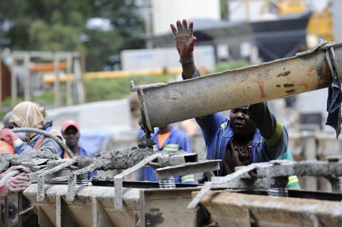 fred bourcier photographe reportage renault trucks camion toupie btp afrique du sud 06