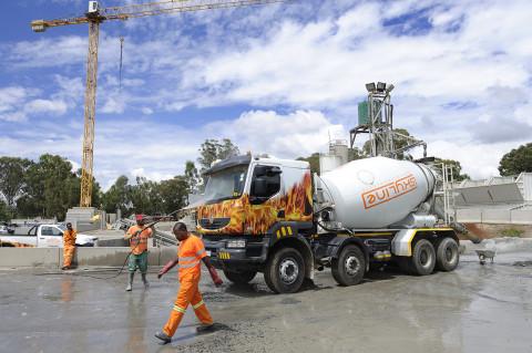 fred bourcier photographe reportage renault trucks camion toupie btp afrique du sud 08