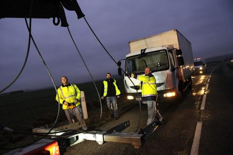 fred bourcier photographe reportage Renault trucks depanneuse camions 07