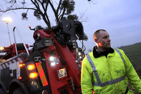fred bourcier photographe reportage Renault trucks depanneuse camions 09