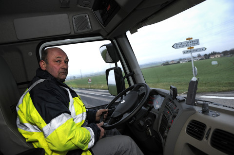 fred bourcier photographe reportage Renault trucks depanneuse camions 11