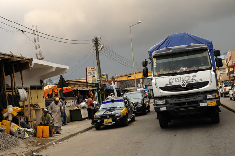 fred bourcier photographe reportage renault trucks ghana transport cacao 20