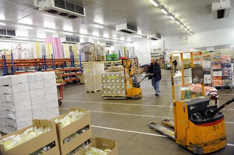 fred bourcier photographe reportage renault trucks livraison transport frigorifique marche rungis 06