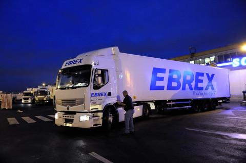 reportage photo fred bourcier au marché de Rungis pour Renault trucks