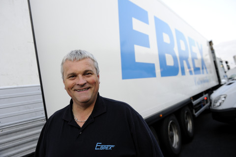 portrait chauffeur livreur marche de Rungis reportage photo renault trucks par fred bourcier