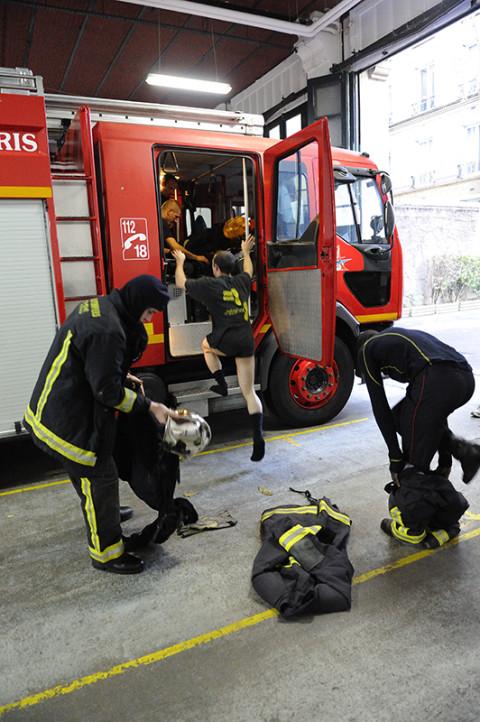 fred bourcier photographe reportage renault trucks pompiers de paris 04