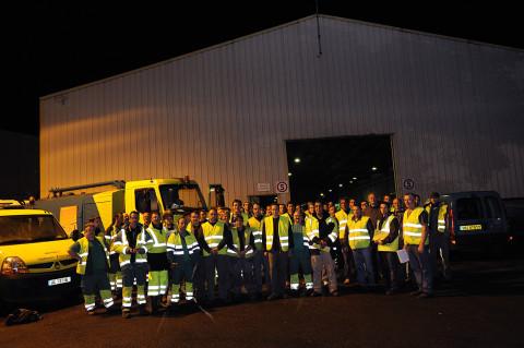 fred bourcier photographe reportage renault trucks service voierie nettoyage braderie de lille 01