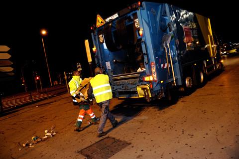 fred bourcier photographe reportage renault trucks service voierie nettoyage braderie de lille 08