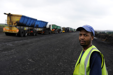 fred bourcier photographe reportage renault trucks transport charbon south africa 02