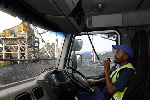 fred bourcier photographe reportage renault trucks transport charbon south africa 05