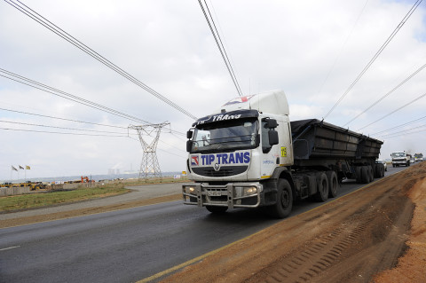 fred bourcier photographe reportage renault trucks transport charbon south africa 08