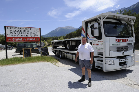 fred bourcier photographe reportage renault trucks transport longue distance paille 01