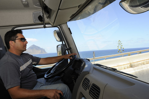 fred bourcier photographe reportage renault trucks transport marbre sicile 02