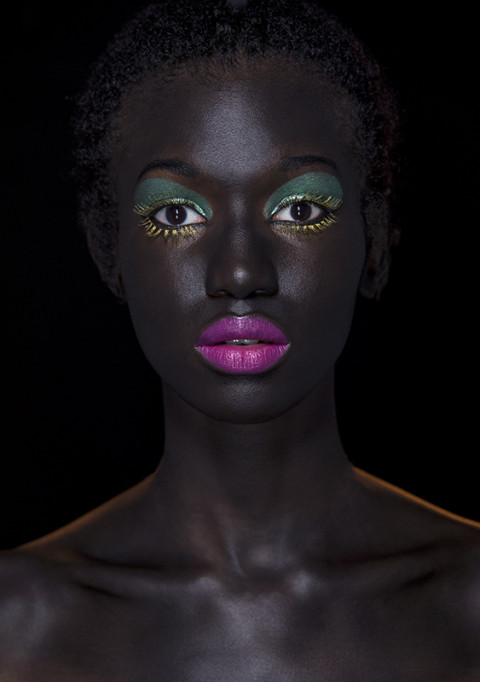 beauty portrait par fred bourcier photographe beauté