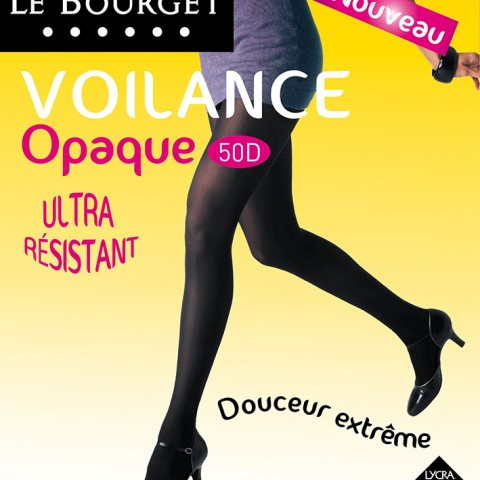 photo fred bourcier packaging collant Le Bourget voilance opaque