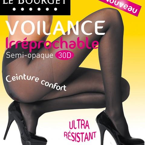 photo fred bourcier packaging collants Le Bourget voilance irreprochable
