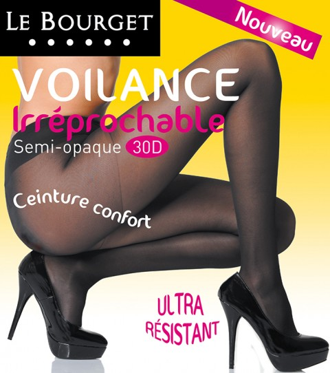 photo fred bourcier packaging collants Le Bourget voilance irreprochable