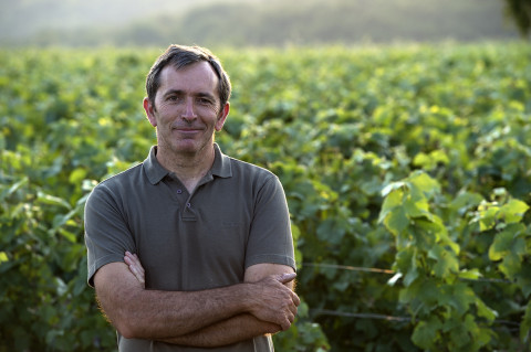 portrait viticulteur champagne Legret photo fred bourcier