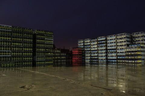 photos fred bourcier site de stockage bouteilles et cube gaz primagaz