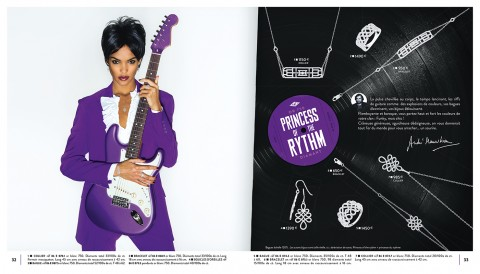 photo fred bourcier catalogue bijoux maty theme de la musique purple rain princess