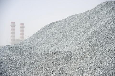 reportage photographique usine BTP Qatar par fred bourcier