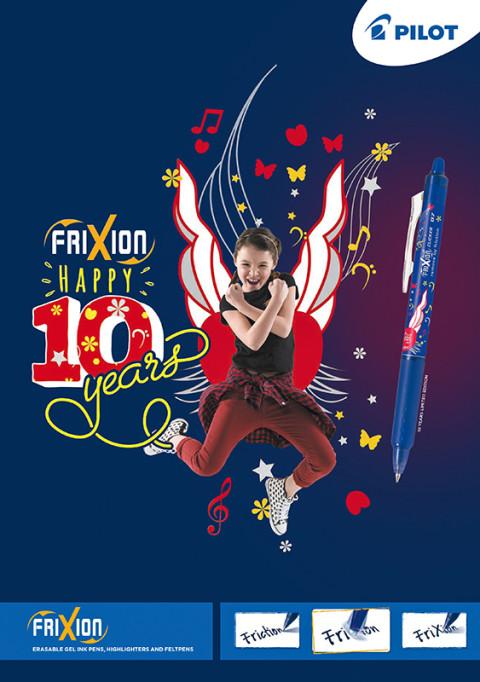 campagne publicitaire pour les stylo Pilot réalisée par le photographe frederic bourcier à Lyon